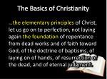 the basics of christianity3