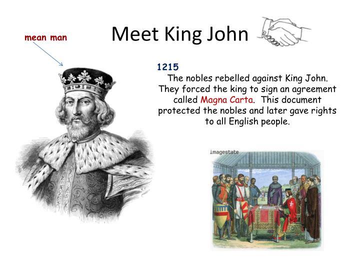 Meet King John