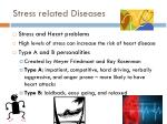 stress related diseases1