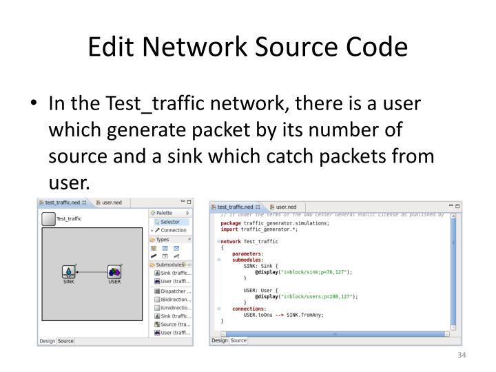 Edit Network Source Code