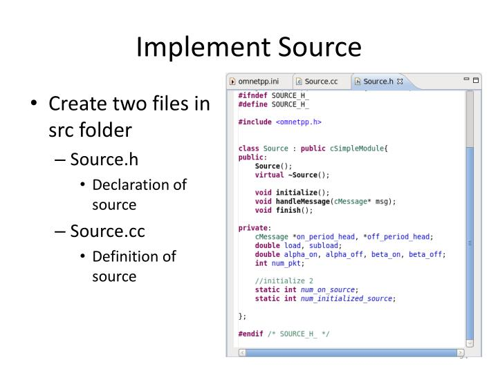 Implement Source