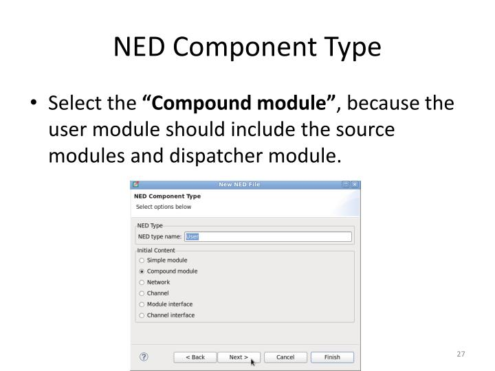NED Component Type