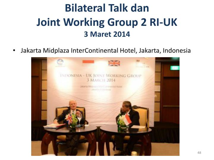Bilateral Talk
