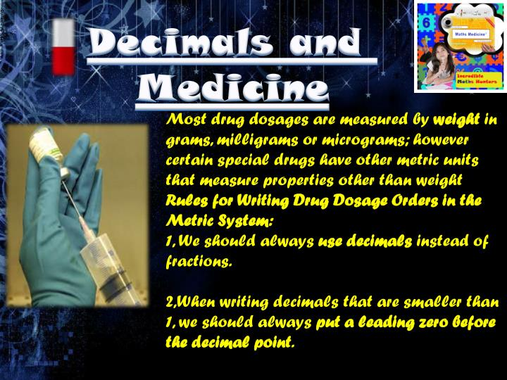 Decimals and