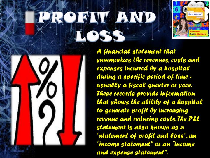 PROFIT AND