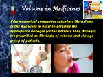 volume in medicines1