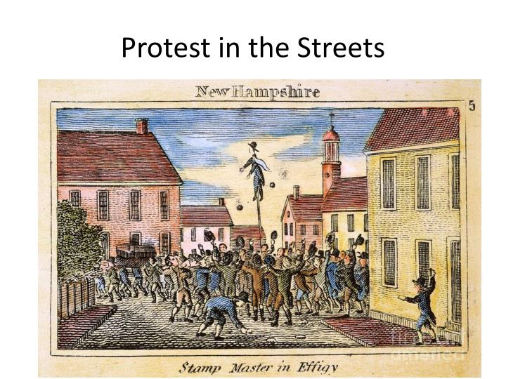 Protest in the Streets