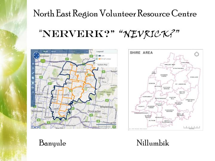 North East Region Volunteer Resource Centre