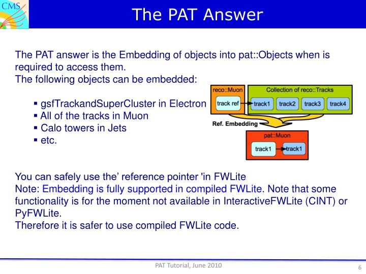 The PAT Answer