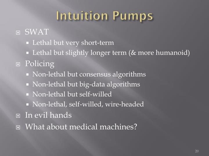 Intuition Pumps