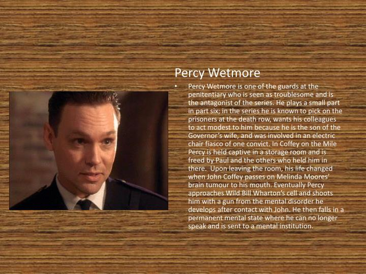 Percy Wetmore