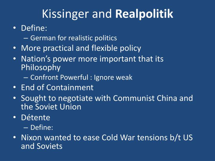 Kissinger and