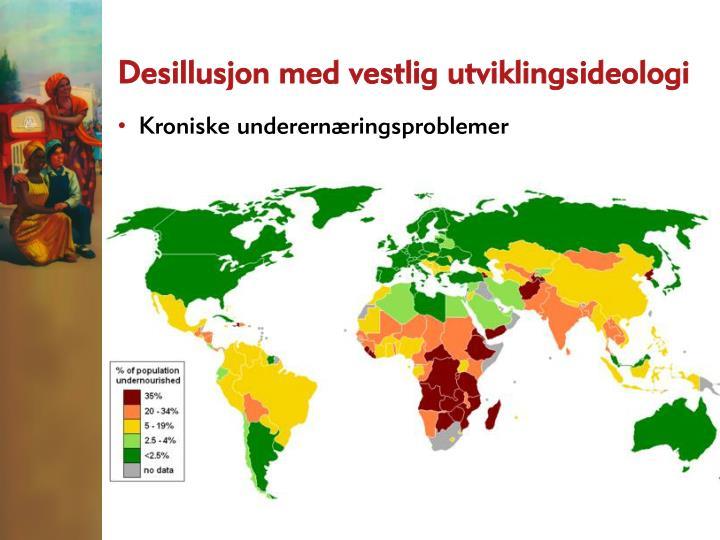 Desillusjon med vestlig utviklingsideologi