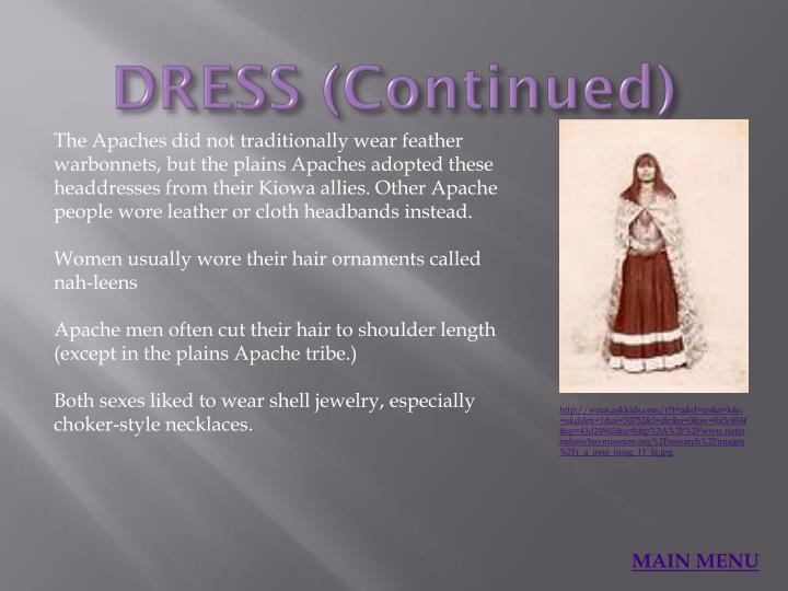DRESS (Continued)
