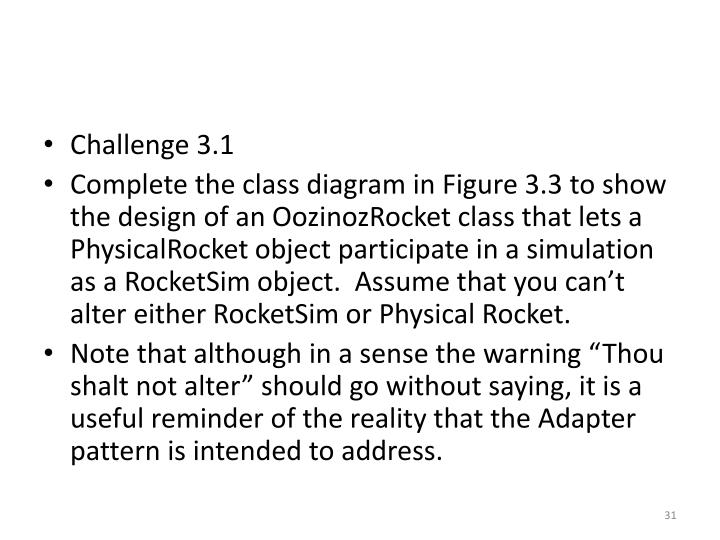 Challenge 3.1