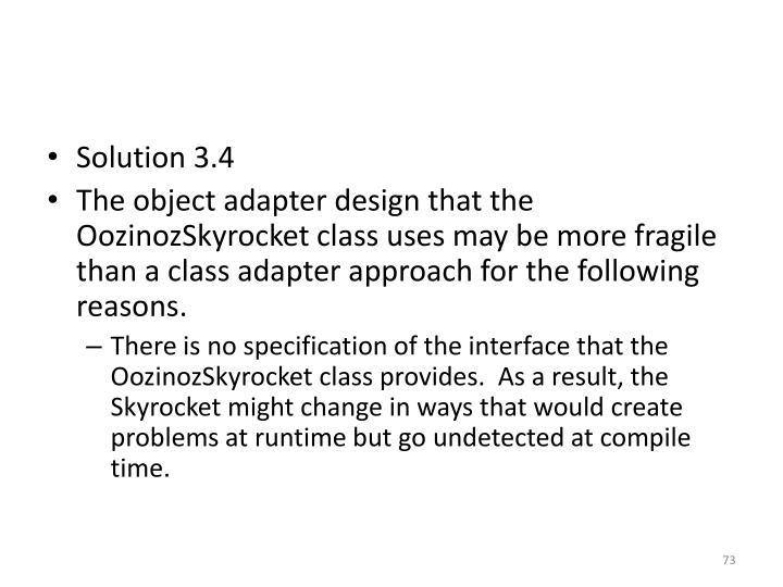 Solution 3.4
