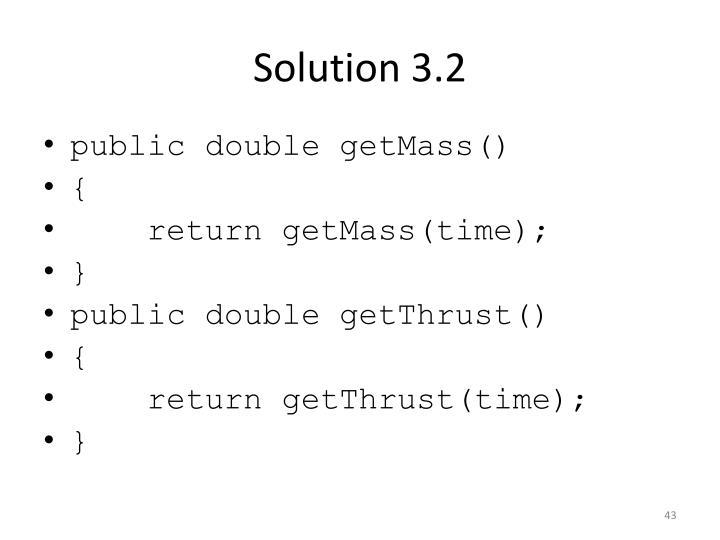 Solution 3.2
