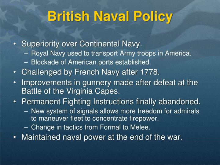 British Naval Policy