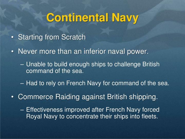 Continental Navy