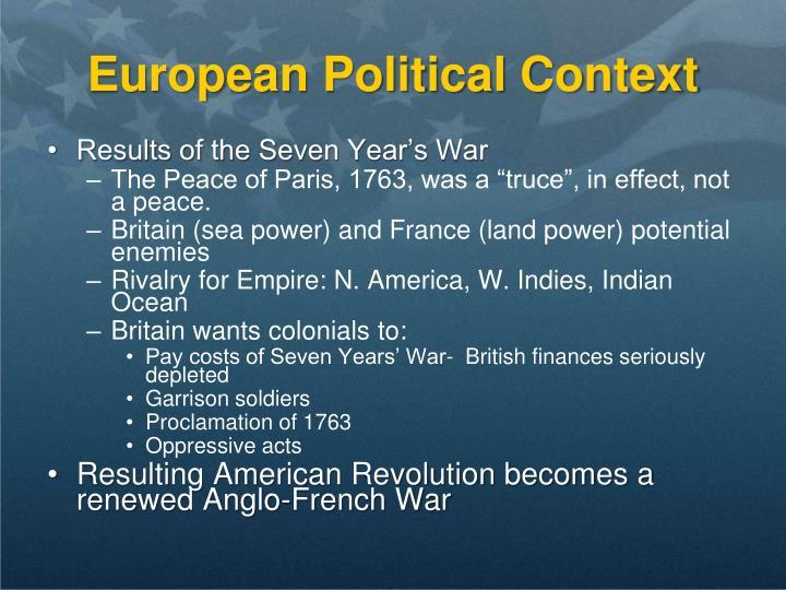 European Political Context