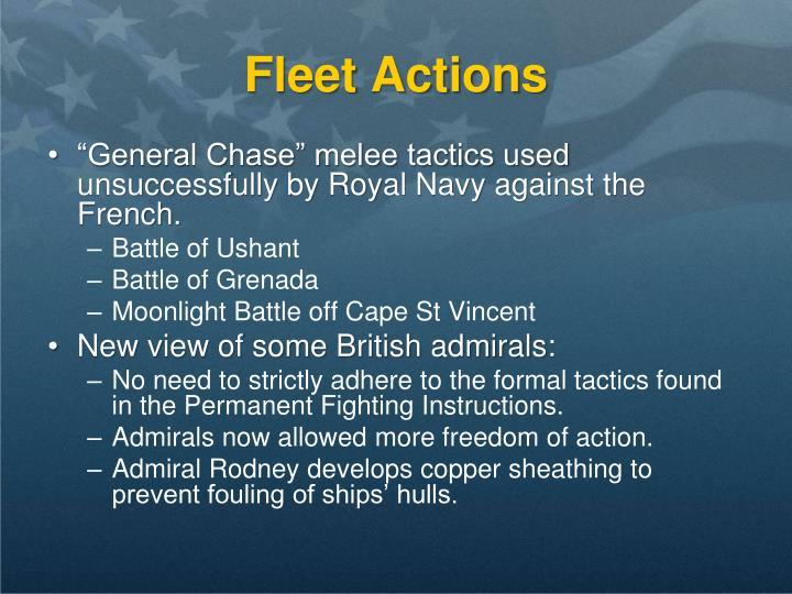 Fleet Actions