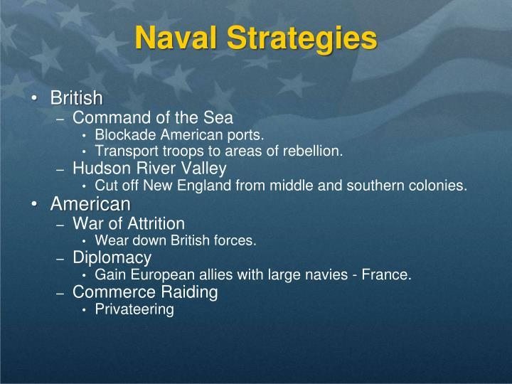 Naval Strategies