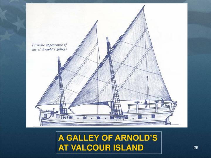 A GALLEY OF ARNOLD'S
