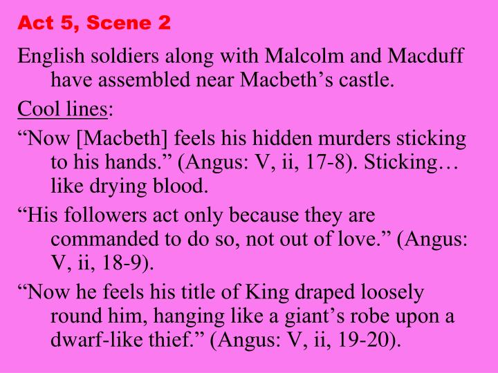 Act 5, Scene 2