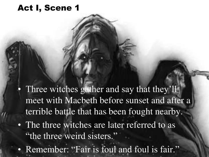 Act I, Scene 1
