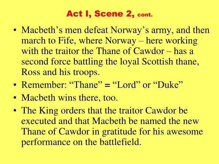 Act I, Scene 2,