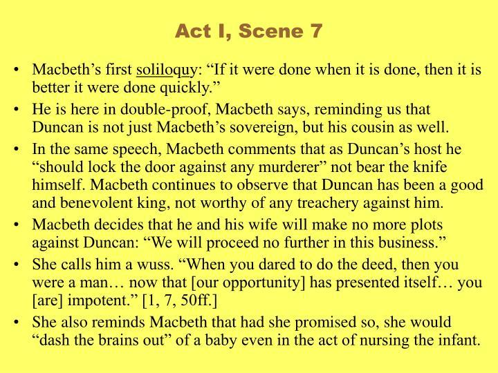 Act I, Scene 7