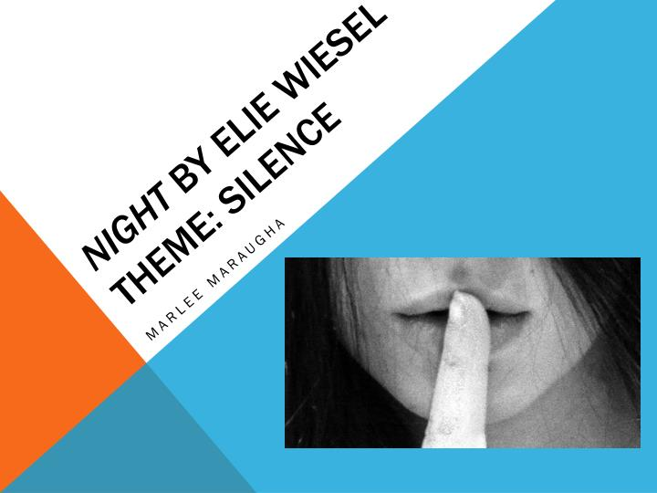eye motif in night by elie wiesel Motifs (recurring structures a guide to jewish references in night elie wiesel grew up in a traditional jewish community throughout night, there are references to ideas, practices reading-discussion-study guide for night.