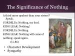 the significance of nothing1