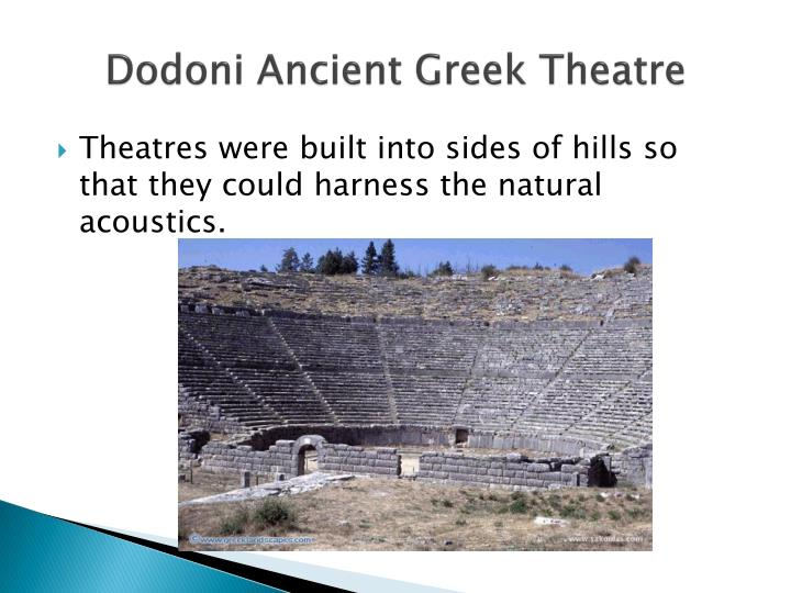Dodoni Ancient Greek Theatre