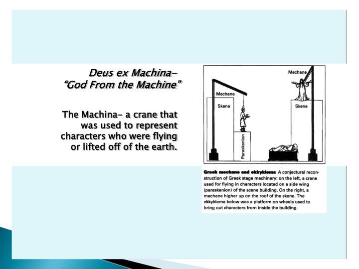 Deus ex Machina-