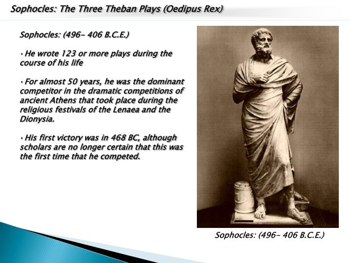 Sophocles: The Three Theban Plays (Oedipus Rex)