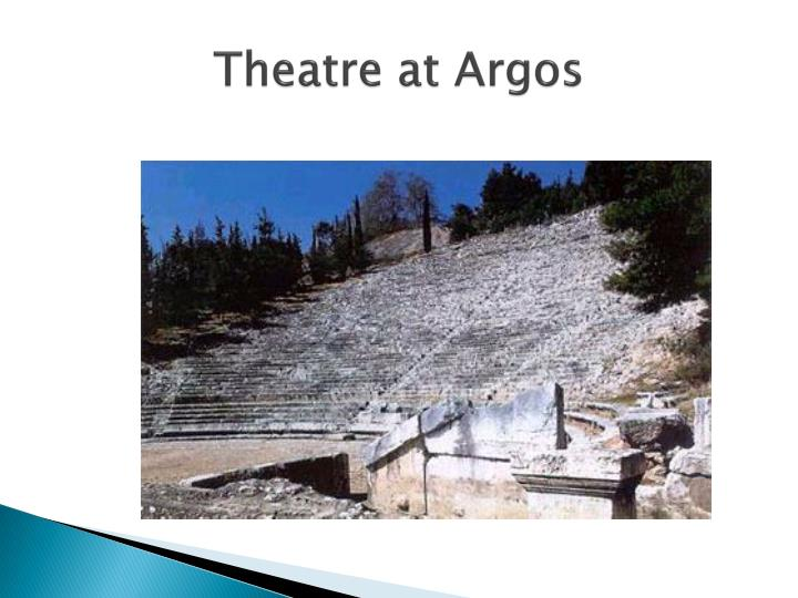 Theatre at Argos