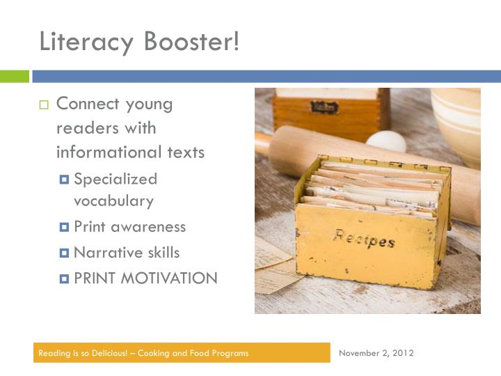 Literacy Booster!