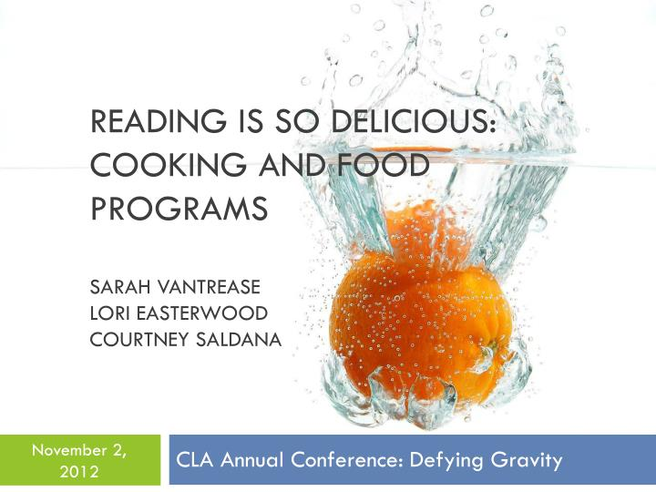 Reading is So Delicious: