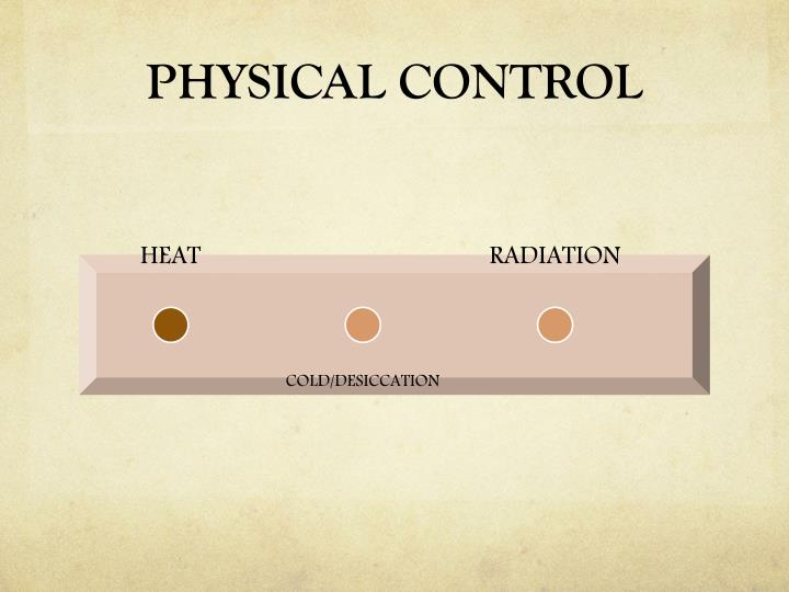 PHYSICAL CONTROL