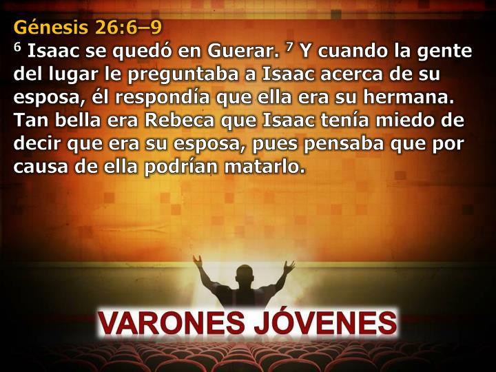 Génesis 26:6–9