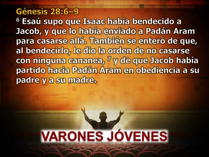 Génesis 28:6–9