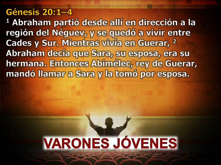 Génesis 20:1–4