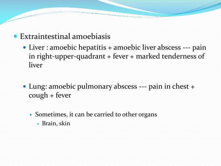 Extraintestinal