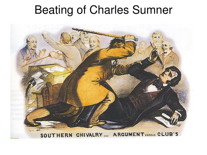 Beating of Charles Sumner