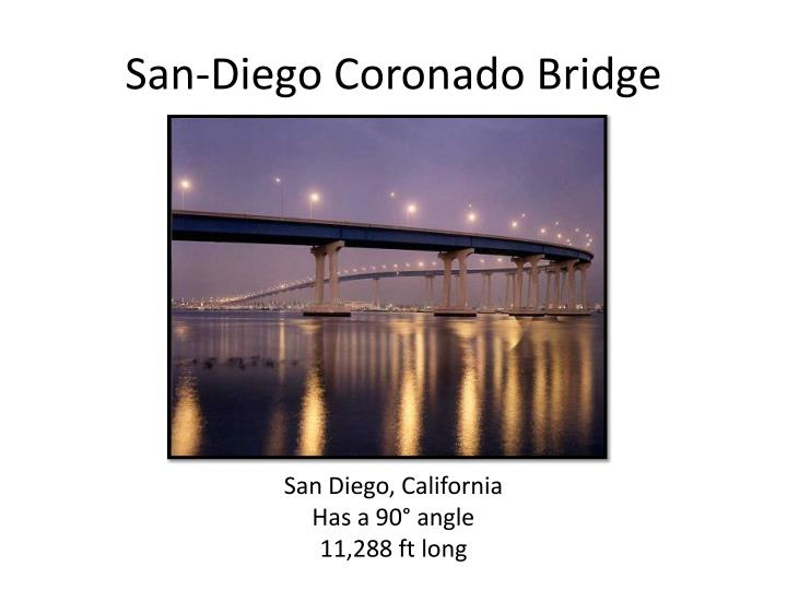 San-Diego Coronado Bridge