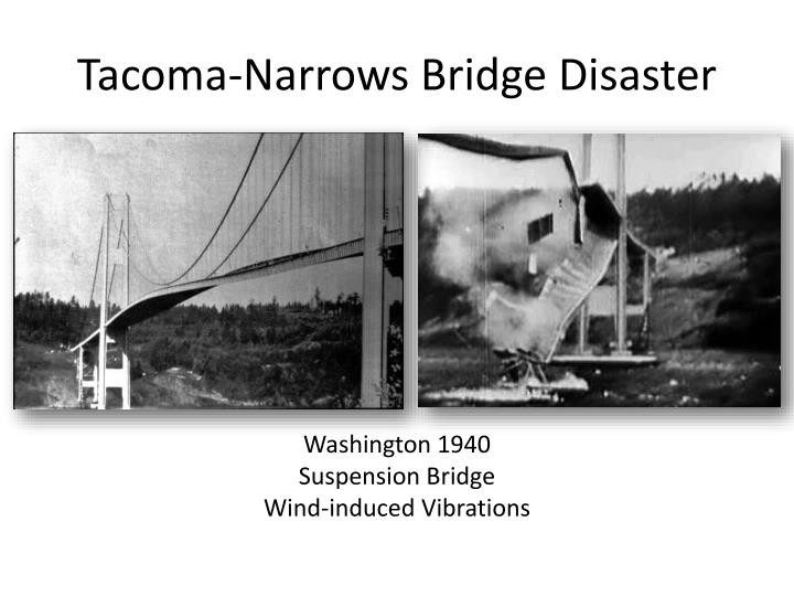 Tacoma-Narrows Bridge Disaster