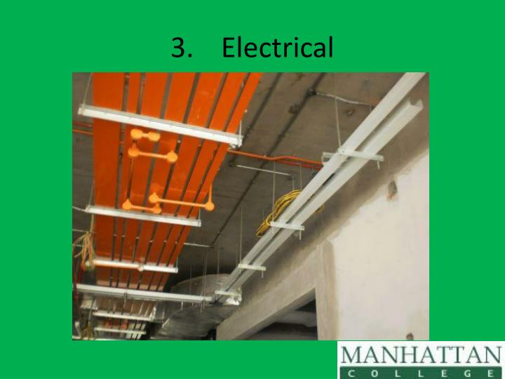 3.Electrical