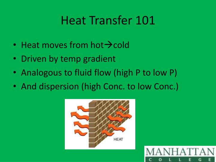 Heat Transfer 101