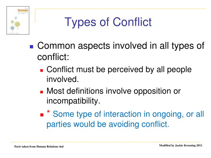 Types of conflict1